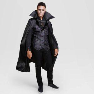 Mens Midnight Vampire Halloween Costume Sz XL nwt
